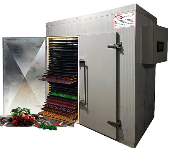 دستگاه خشک کن کابینتی میوه و سبزیجات شرکت آریا صنعت البرز