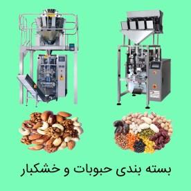 بسته بندی حبوبات و خشکبار آریا صنعت البرز